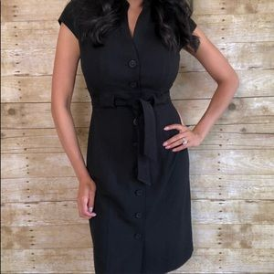 Calvin Klein Button Down career dress 1682